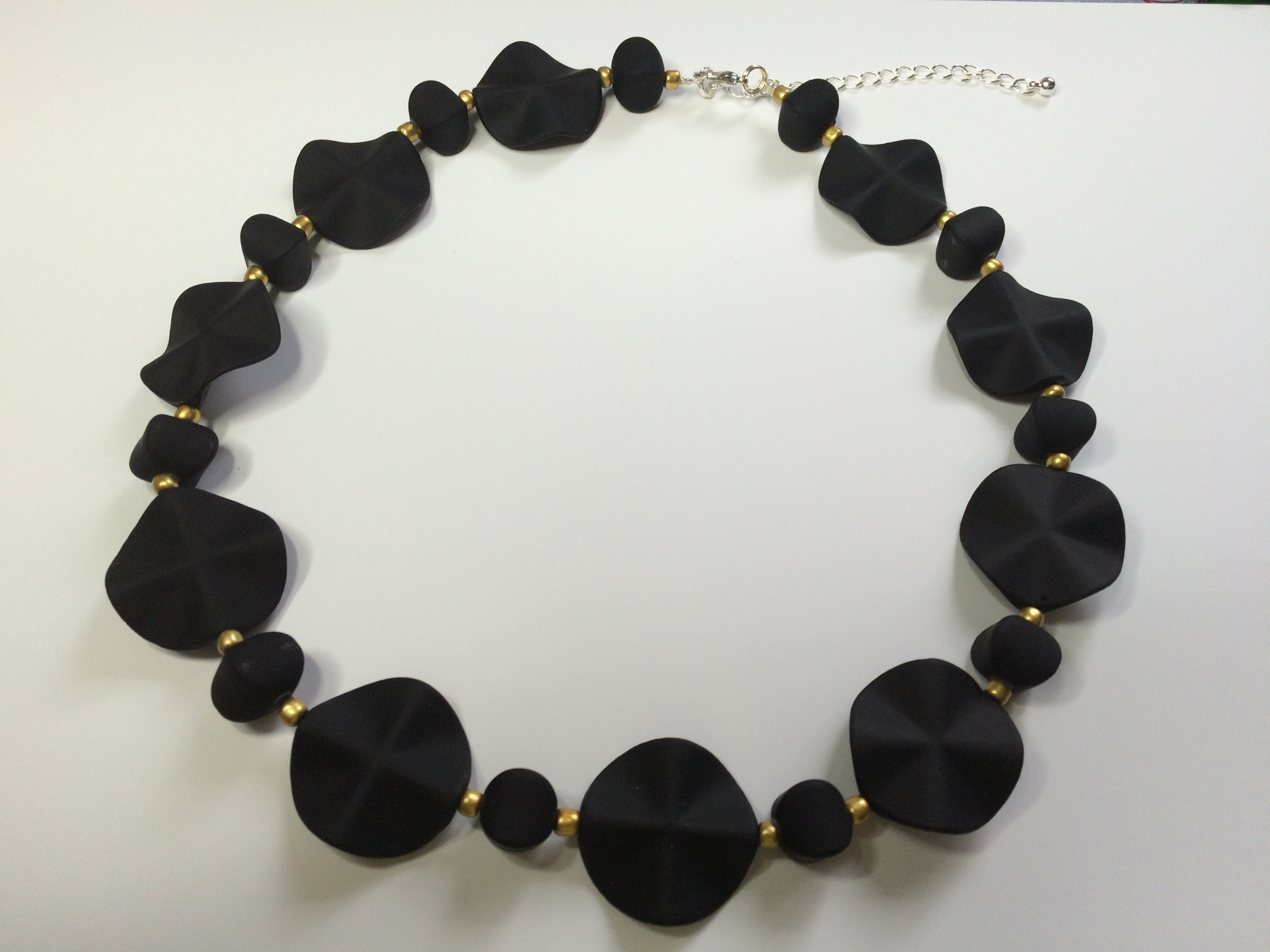 Black & Gold soft ketting