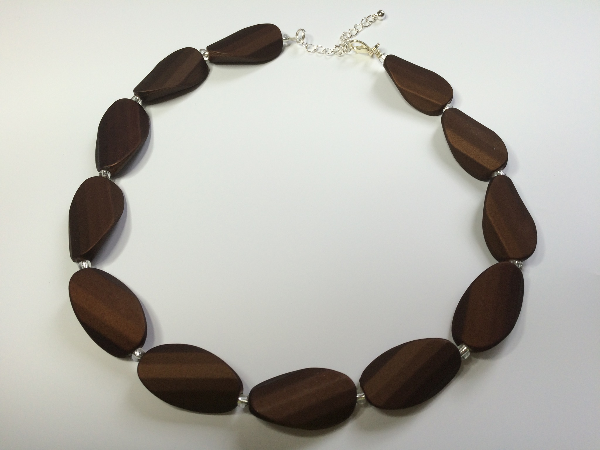 Brown soft ketting